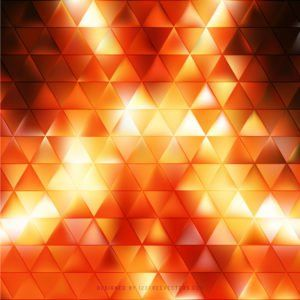 Black Orange Fire Triangle Background Graphics