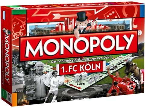 Monopoly 1. FC Köln, das Spiel für die zweitschönste Stadt am Rhein! ;) #monopoly #1.FC #Köln