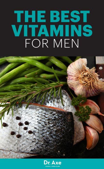 Top Vitamins for Men & Risk Factors for Vitamin Deficiencies in Men