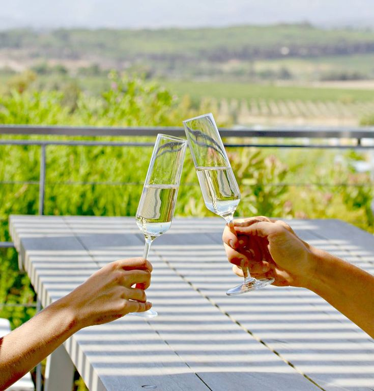 A glass of Capriole in the sunshine! What could be better?  #CavalliEstate #CaprioleMCC