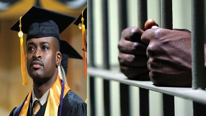More African-American men in prison than college? Not true ...