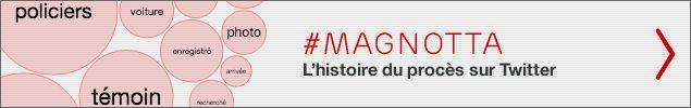L'affaire Luka Rocco Magnotta a fait le tour du monde, et son procès aura certainement été le plus médiatisé de l'année au pays. Un procès qui s'est aussi transporté sur Twitter. Pendant les 11 semaines des audiences, les journalistes Isabelle Richer et François Messier ont produit à eux seuls près de 3200 tweets.