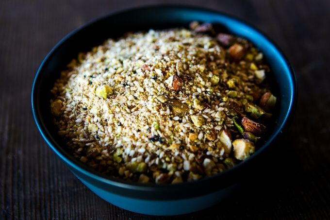 I like to keep a batch of Dukkah in the freezer for when guests drop in, or I need to put together a quick thank you gift in a small jar.While I love serving it with crusty bread and good quality olive oil, I tend to use it to crumb lamb cutlets, steak and chicken....Read More »
