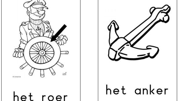 Woordenschat 'het schip' - Juf Inger