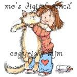 PATIENCE Rubber Stamp Mo Manning Collection from Stamping Bella