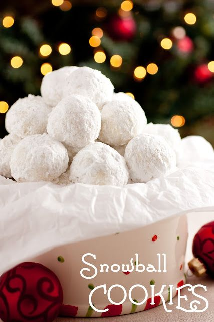 Snowball Cookies Recipe ~ Easy and simple but delightfully delicious!