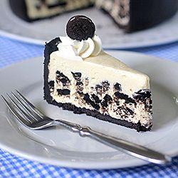 Icebox Oreo Cheesecake-- no baking required.