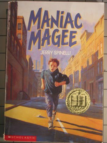 Finally got around to reading Maniac Magee, Newbery Award book - well worth its honor. We need more Maniac Magees in our world.