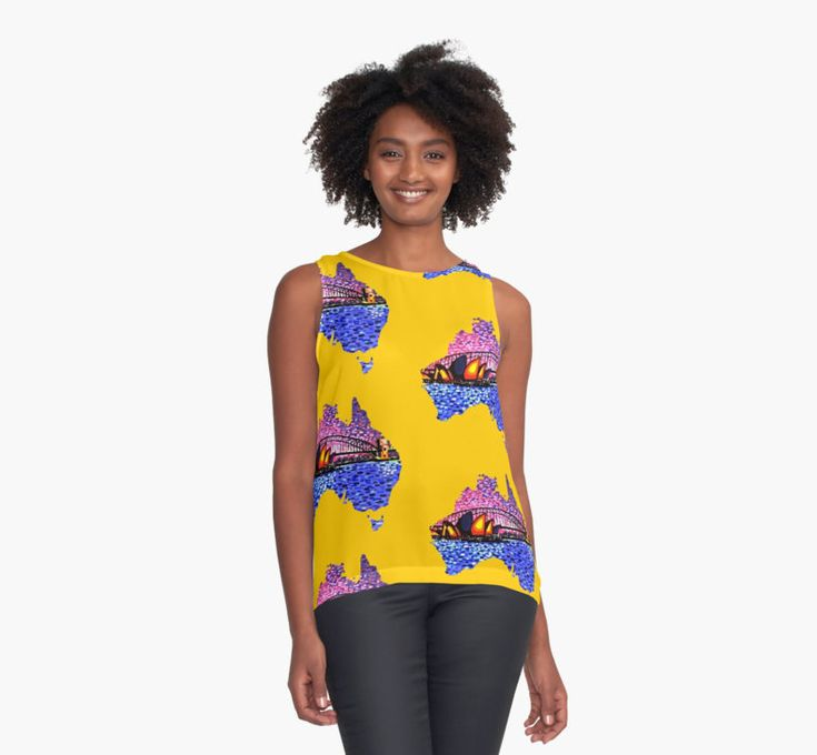 Sydney Harbour/Australia themed contrast top  @redbubble #australia #fashion #sydney #sydneyharbourbridge #fashionaustralia #ozfashion #map #yellow #paintings #art #artfashion #fashiontops #visitsydney #nagohnala #fashionart #brandnew #cooltops #leisurewear #popular #trending2017