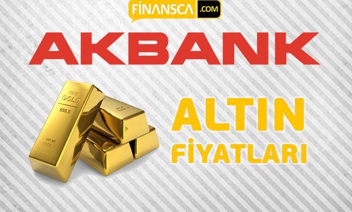 Akbank altın fiyatları