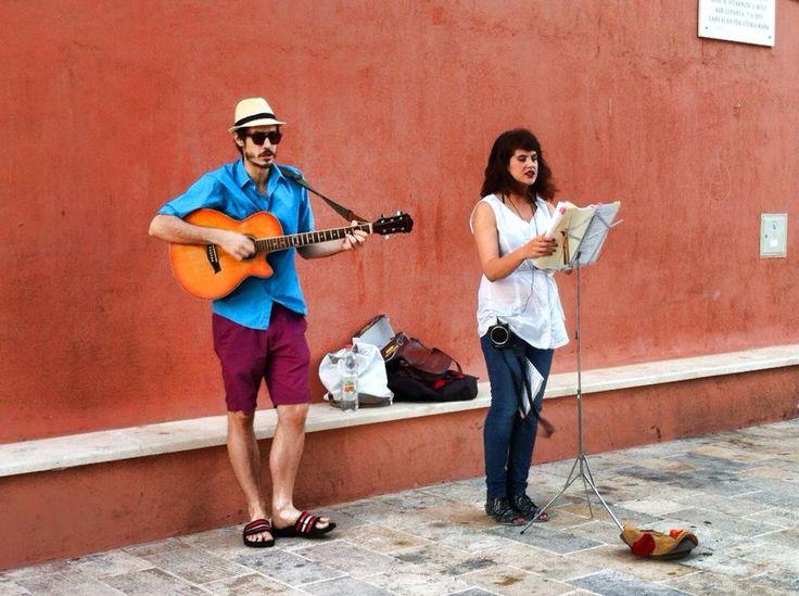 Artisti di Strada all'Isola di Rab (Arbe) ~ Croazia~ Foto Di Mara Vezzola