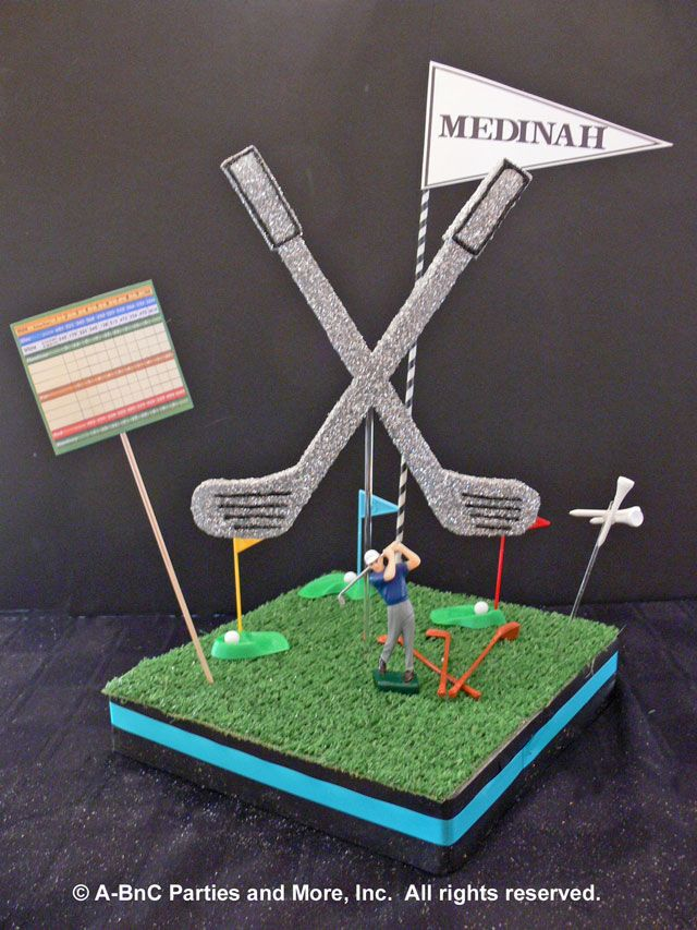 Diy golf centerpiece expanded kit use these