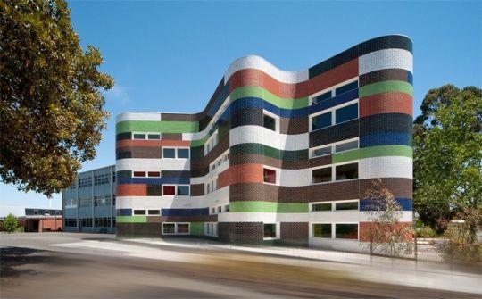 Arquitetura da Escola Fitzroy por McBride Charles Ryan