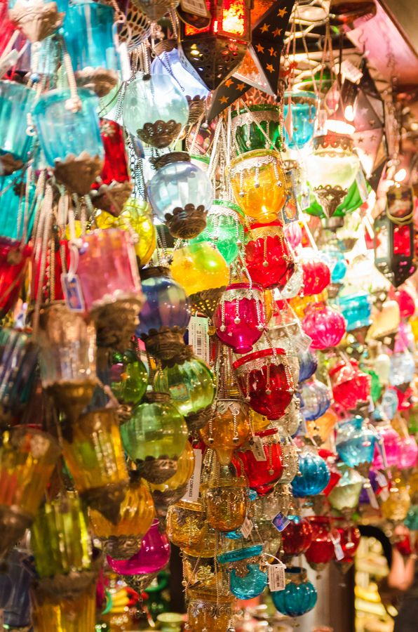 Lamps in Dubai Market, UAE