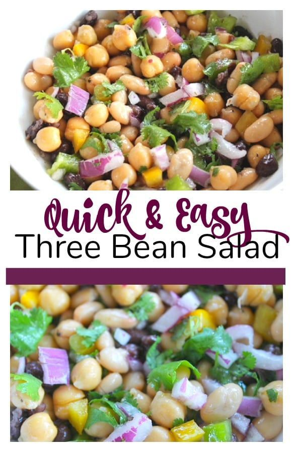 Updated Three Bean Salad Recipe That Is Perfect For A Barbecue Or Side Dish Easyrecipe Salad Bean Salad Recipes Three Bean Salad Recipes With Kidney Beans