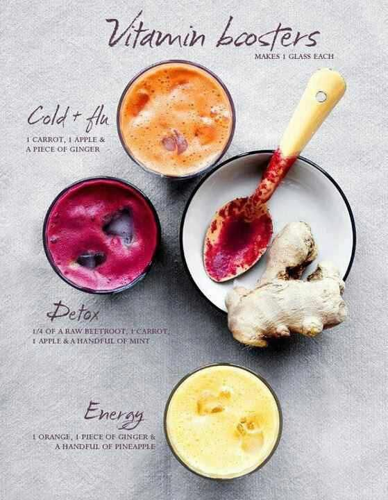 Love these Vitamin Boosting Juices