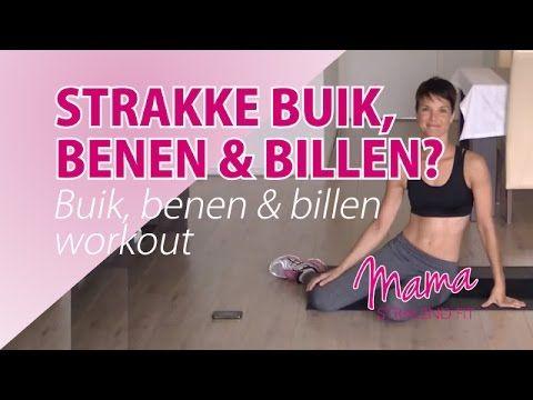 Hoe krijg ik een strakke buik, benen en billen? 9 Minuten BBB Workout - YouTube
