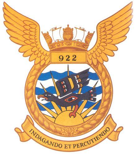 VC 922 Badge - The Canadian Navy - ReadyAyeReady.com