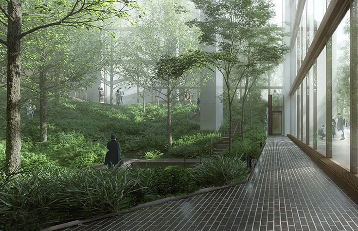 """New York YIMBY reports the good news that """"on Tuesday, the Landmarks Preservation Commission approved changes to the atrium of the Ford Fou..."""