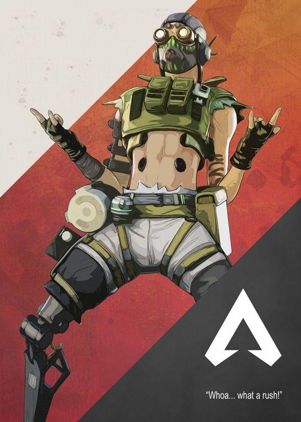 Octane Apex Legends Gaming Poster Print | metal posters in