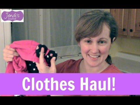 Thrift Store Haul | Goodwill Clothes Store | Jendi's Journal - YouTube