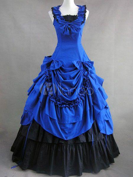 Victorian Dress costume- Pretty blue. $132.99 #victoriancostume