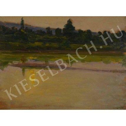 Reflection on the Lake - Lajos Kunffy