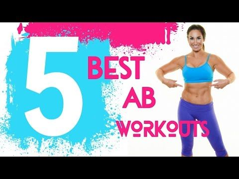 Top 5 Ab Workouts - Best Ab Exercises - Natalie Jill Fitness