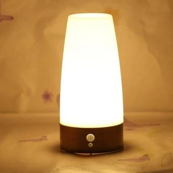 บอกต่อ  Retro Wireless Motion Sensor Night Light Battery Powered LED TableLamp CUTE - intl  ราคาเพียง  335 บาท  เท่านั้น คุณสมบัติ มีดังนี้ This table lamp comes equipped with light senor and motionsensor for automatic on/off operation, and can also be switched toON/OFF permanently. Its ideal for lighting the way when checkingon the baby, heading to the bathroom after dark, or making your wayto the kitchen for a late-night snack. Lightweight and portable, retro style design Energy-efficient…
