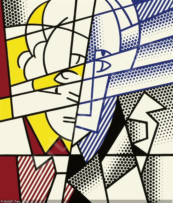 lichtenstein, self-portrait