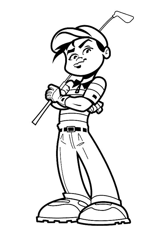sports coloring pages 23