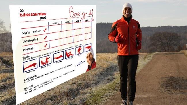 Gå to buksestørrelser ned på fire uker - Helse-forbruk-og-livsstil - NRK