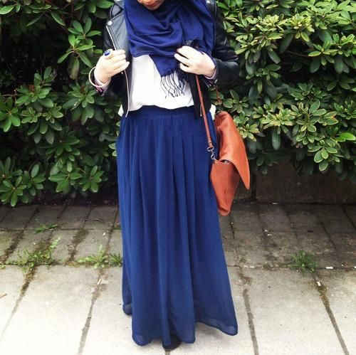 Hope I haven't pinned this one yet lol! i'm obsessed with that color blue! #hijab