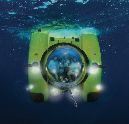 James Cameron's Sub Designer Ron Allum & Triton Submarines working on next full ocean depth submersible. Triton 36000/3 Full Ocean Depth Submersible