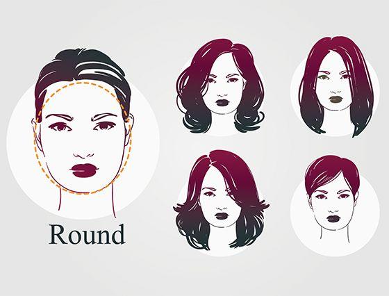 20 schmeichelhaftesten Frisuren für runde Gesichter