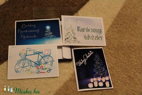 Képeslap szett karácsonyi (tundike1224) - Meska.hu