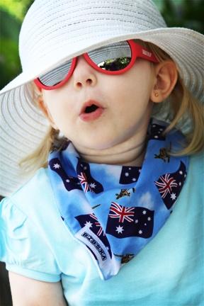 The Aussie Baby Bib