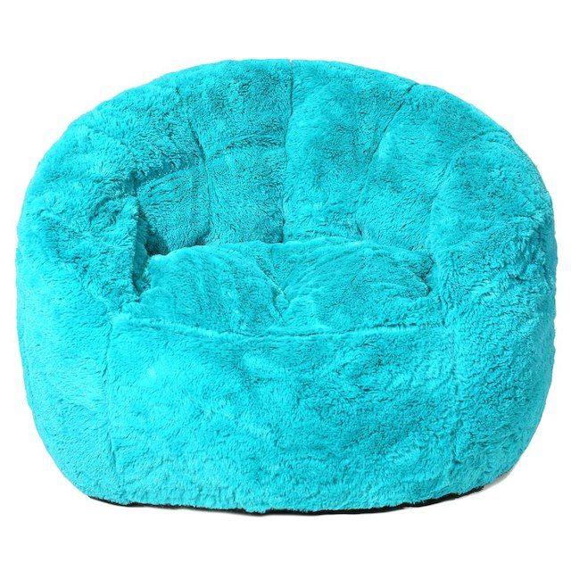 Image Result For Faux Fur Bean Bag