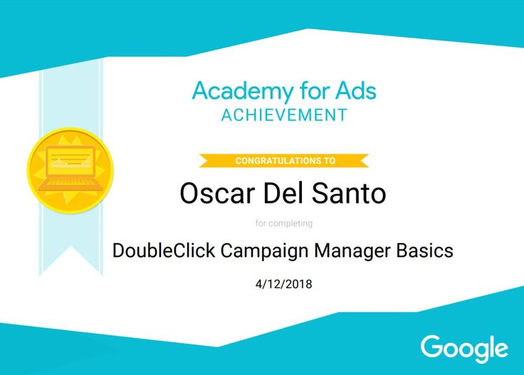 Google DoubleClick Manager Basics, 12/4/18