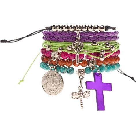 Karyin in LA Carnivale bracelet pack, AU$12.99 from City Beach, Australia.