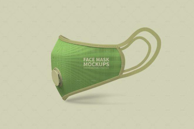 23 Best Mask Mockup Psd For Design Presentation Graphic Cloud Face Mask Mask Unique Face Mask Design