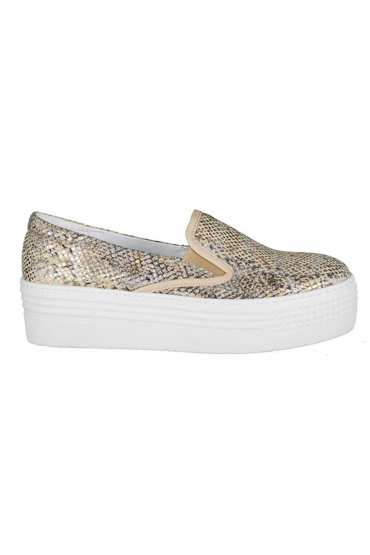 Dolgu Topuklu Spor Ayakkabı - Crocodile | Trendy Topuk | Trendy Topuk | Ayakkabı | 150 TL ve üzeri alışverişlerinizde Kargo ücretsiz