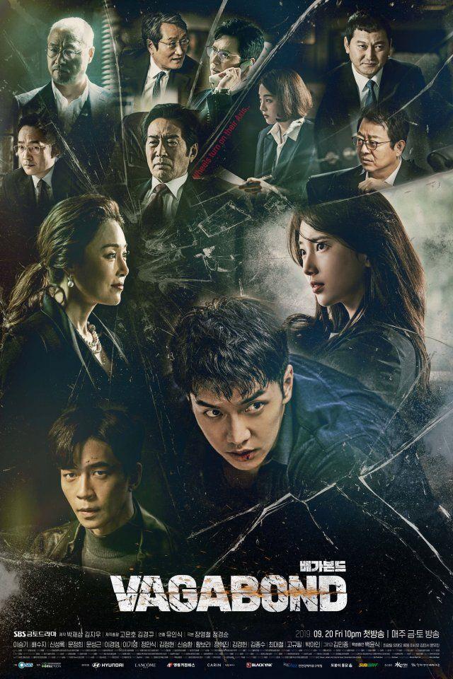 Photos New Posters Added For The Upcoming Korean Drama Vagabond Drama Korea Korean Drama Movies Korean Drama Tv