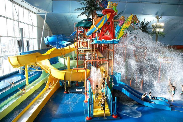 Explore The Niagara Falls Waterpark - Fallsview Indoor Waterpark