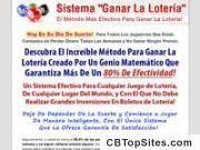 Sistema Ganar La Lotería™ | El Método Más Efectivo Para Ganar La Lotería