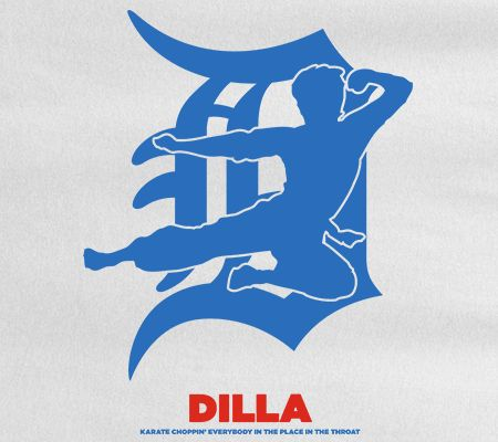 A Dilla inspired shirt design that is so dope it's a karate chop to the throat. Available until March 7th at www.mymainmanpat.com #Dilla #JayDee #JDilla #Pause #BruceLee #AlanJThatcher #Welcome2Detroit