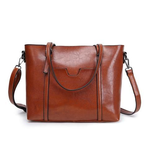 100% genuine leather bag designer handbag