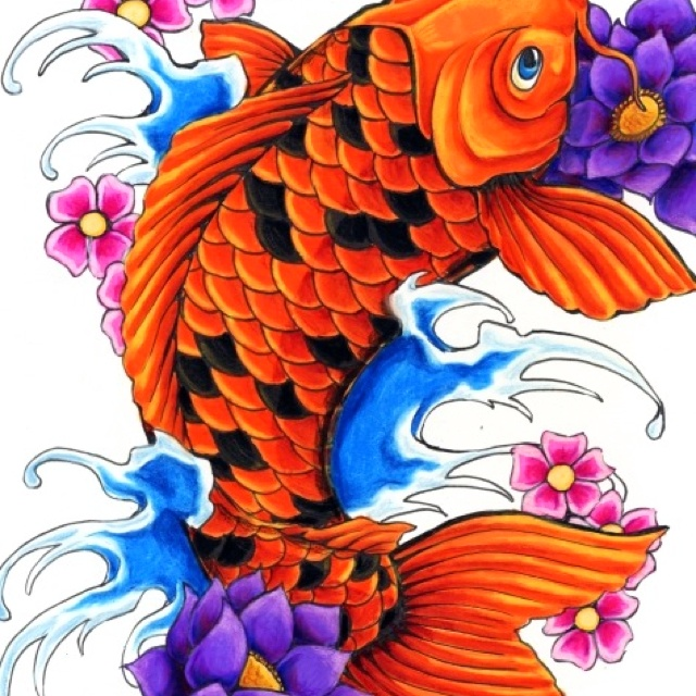 56 best images about my chinese heritage sleeve on for The best koi fish
