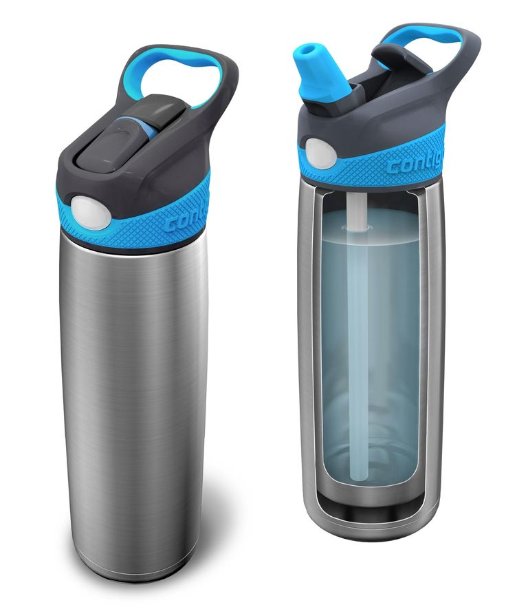 contigo Sheffield  Have It - I'm very happy with it, loop to clip to backpack, easy opening, and still keep temperature