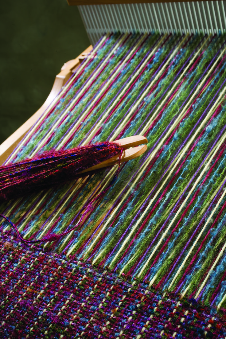 rigid heddle weaving patterns with two heddles - Google Search